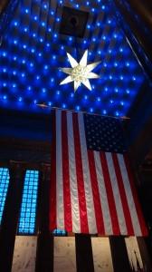 Flag at War Memorial Indianapolis