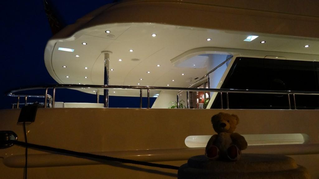 Teddy at Ship
