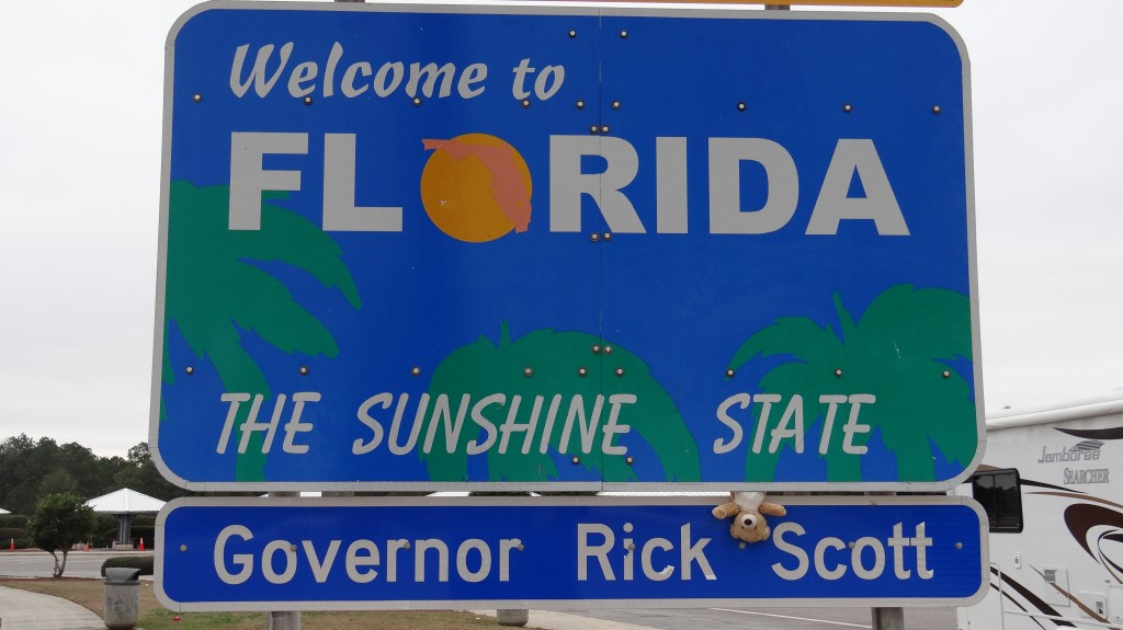 Teddy Florida Sign