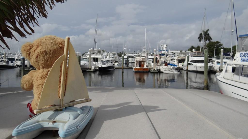 Teddy's boat